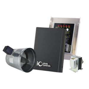 "FRESH AIR VENTILATION KIT INCLUDES 6"" DAMPER, 24VOLT"